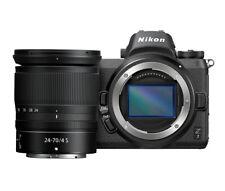 Nikon Z7 45.7MP Digital Camera - Black (Kit with NIKKOR Z 24-70mm F4 S Zoom Lens