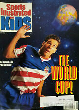 Sports Illustrated for Kids Magazine June 1990 - US Soccer Star Paul Caligiuri