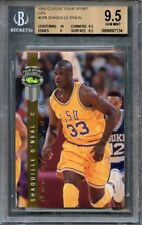 1992 classic four sport lps #lp8 SHAQUILLE O'NEAL rookie BGS 9.5 (10 9.5 9 9.5)