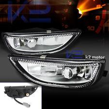 2001-2002 Toyota Corolla Fog Lights Bumper Lamps Clear Glass Lens+H3 Bulbs