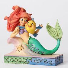 Jim Shore Disney Traditions Ariel & Flounder Figurine 4054274 Fun & Friends New