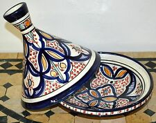 Moroccan Ceramic Tagine Tajine Chicken Tangia Cookware Serving Pot Tangine Small