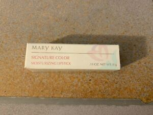 Mary Kay Signature Color Moisturizing Lipstick Cranberry .13 oz #1704 NOS
