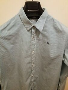 MENS SHIRT G STAR RAW SIZE LARGE FITTED SHIRT EXCELLENT CONDITION