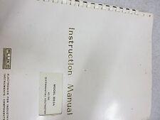 Fluke 883A/883Ab Instruction Manual 3311B-3