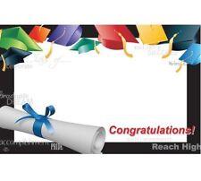 50ct. CONGRATULATIONS Graduation Diploma Blank Florist Enclosure Cards Small Tag