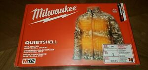Brand New - Milwaukee M12 Heated QUIETSHELL Jacket - Camouflage Color Size L