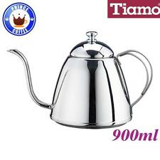 Tiamo 900ml Stainless Steel Coffee Pouring Over Kettle with Lid (HA8401)