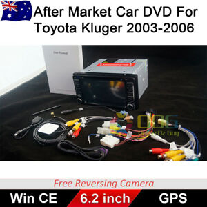 6.2 inch Car DVD GPS Head Unit Stereo Player For Toyota Kluger 2003-2006