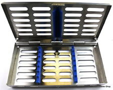 Sterilisation Cassette Rack Tray Surgical Dental 7 instruments