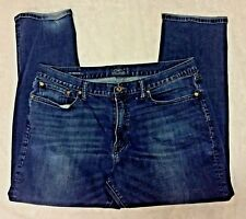 Women's LUCKY BRAND 410 ATHLETIC FIT JEANS Straight Leg 38W/32L DARK WASH