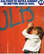 PUBLICITE ADVERTISING 045 1978  JEAN LE BOURGET  vetements enfants garçons