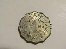 India 1918 1 Anna Coin