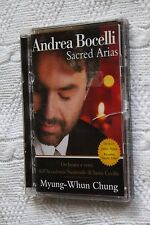 Andrea Bocelli: Sacred Arias (DVD) Like new (Disc:NEW), R: 2-6, Free shipping