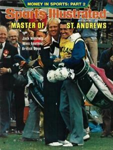 1978 Sports Illustrated, St. Andrews Master Jack Nicklaus, NO LABEL (Removed)