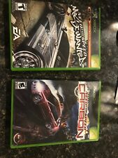 Lot Of 2 Xbox  Games Need For Speed Most Wanted And Carbon. Free Shipping!!!!