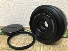 【N. Mint+5】Panasonic LUMIX 20mm 1.7 ASPH. Lens For MFT Cameras H-H020 from JAPAN