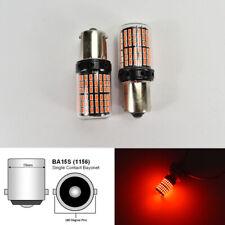 Rear Signal 1156 BA15S 7506 1141 3497 P21W 144 Projector Red LED Bulb K1 H