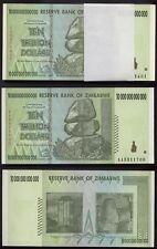 [#21644] - UNCIRCULATED & CONSEC.: 100 notes: BUNDLE 10 TRILLION ZIMBABWE DOLLAR