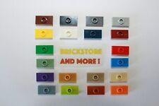 Lego - Plate Plaque 1x2 Stud Top 3794 Choose Quantity 2x 4x 10x 20x 40x & Color