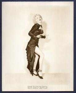 DOLORES MORAN busty leggy actress JOHNNY ONE EYE 1947 film noir ORIG PHOTO