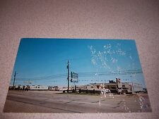 1960s WARNER MOBILE HOME SALES DALLAS TEXAS VTG POSTCARD