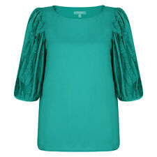 Fever London Cabana Top in Jewel Green Size 10 BNWT RRP £54.99