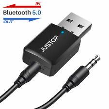 Bluetooth 5.0 Audio Transmitter Wireless Stereo Dongle Adapter USB Fr TV Speaker