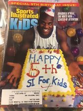 January 1994 Shaquille O' Neal Shaq Orlando Magic Sports Illustrated For Kids