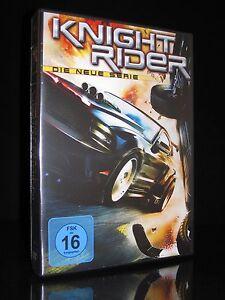 DVD KNIGHT RIDER - DIE NEUE SERIE (2010) - 4 DISC-Box-Set - Michael Knight * NEU