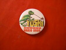 Super Mario Bros. Movie Yoshi Promotional Button Pin Back Promo 1993 **RARE**
