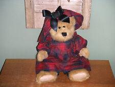 "Boyds Bears Plush 1997 ~10"" Evelyn~ J.B. Bean Collection"