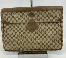 Authentic Gucci Envelope Portfolio Briefcase
