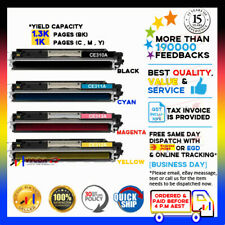 4x NoN-OEM Toner CE310A-CE313A for HP Colour CP1025 CP1025nw MFP M175 126A