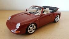 Modellauto PORSCHE 911 CARRERA CABRIOLET ★ wie neu ★ 1:18 ★ Originalverpackung
