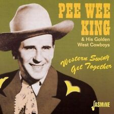 Western Swing Get Together - Pee Wee & His Golden West King (2001, CD NEUF)