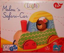**Malou's Safari-Car**Holz**Lugts**Beluga**ab 1 Jahr**neu/unbespielt**