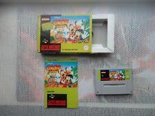 Jeu Super Nintendo / Snes Game Goof Troop Complet CIB PAL Hol * BIEN LIRE
