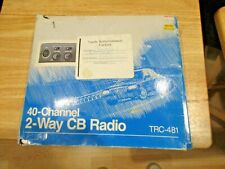 Radio Shack Realistic 40-Channel 2-way Cb Radio Trc-481 Not Been Tested Refurbi