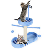 Cat Tree Scratching Post Furniture Scratcher Pet Kitten Toys Cristmas 28.7''