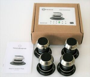 Townshend Audio Seismic Isolation Pods / Feet Free Shipping, 12 months Warranty