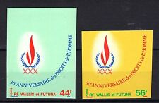 WALLIS & FUTUNA (FRANCE) MNH 1978 30th ANNIV OF DECLARATION HUMAN RIGHTS IMPERF
