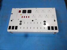 B9) OFFICE ELECTRICS KG10 9 PLUG DISTRIBUTION BOARD +4 TRANSFORMER POINTS