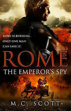 Rome: The Emperor's Spy by M. C. Scott, Book, New (Paperback)