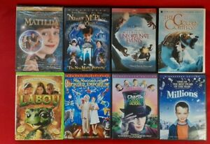 Lot of 8 Kids Family Fantasy DVD Matilda, Unfortunate Events Nanny McPhee & More