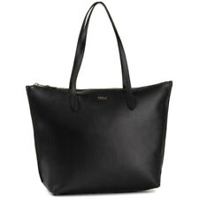 Bolsa Furla Transparente Comprador Grande 1049157 Negro