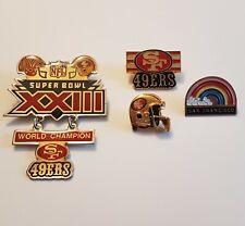 Lot of Four Pins - San Francisco - 49ers - Super Bowl Champions XXIII