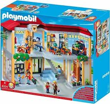 Playmobil #4324 Elementry School Set New Sealed
