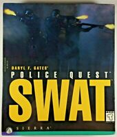 Sierra Police Quest SWAT PC Computer Game Win95 Win 3.1 MS-DOS 1995 New BIG BOX