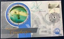 TIM WONNACOTT, TV, Bargain Hunt, Signed 14.12.1999 Millenium Timekeepers FDC